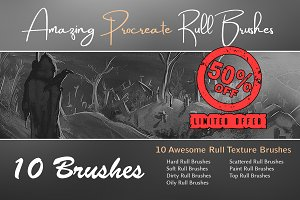 Amazing Procreate Rull Brushes
