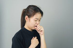 women are cough and irritation.