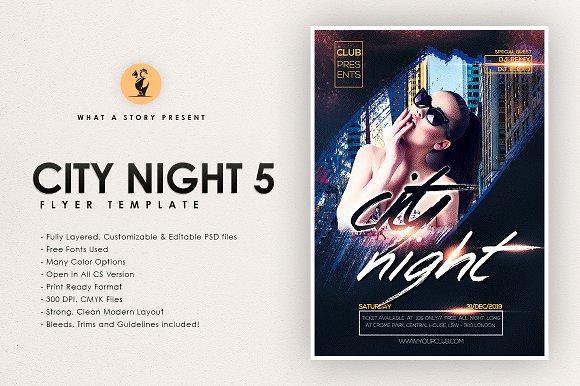 CITY NIGHT 5