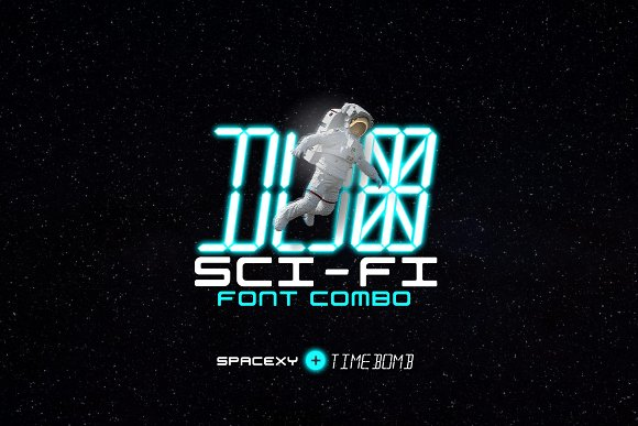 Sci-fi Font Collection