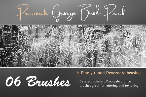 Procreate Grunge Brush Pack