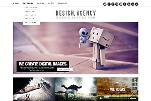 Design Agency Responsive WordPress