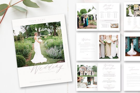 Wedding Photography Magazine PSD