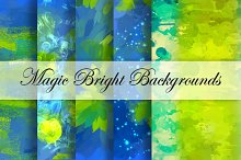 10 Magic Bright Backgrounds