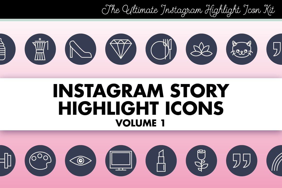 how to add icon to instagrram highlights