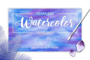 Watercolor Seamless Textures