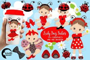 Ladybug kids, ladybug baby AMB-1086