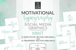 Motivational Typography - MINT