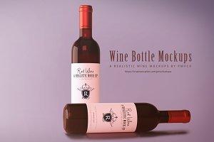 Wine Mockup