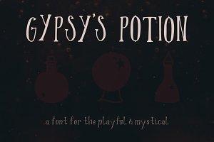 Gypsy's Potion Font