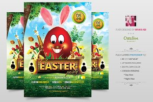 Easter Party Flyer | Poster