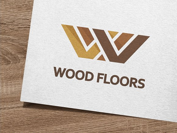 Wood Floors Logo