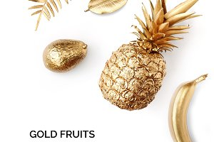 Gold fruits
