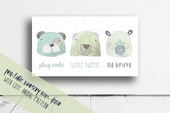 Cute Nursery Room Print
