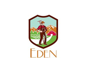 Eden Organic Farms Logo