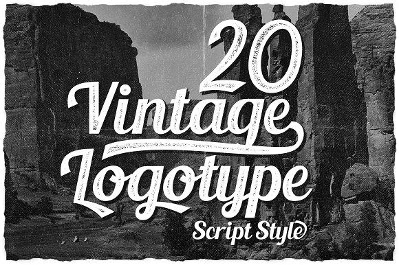 20 Vintage Logotype #3