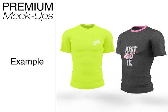 Full Sleeve T Shirt Mockup