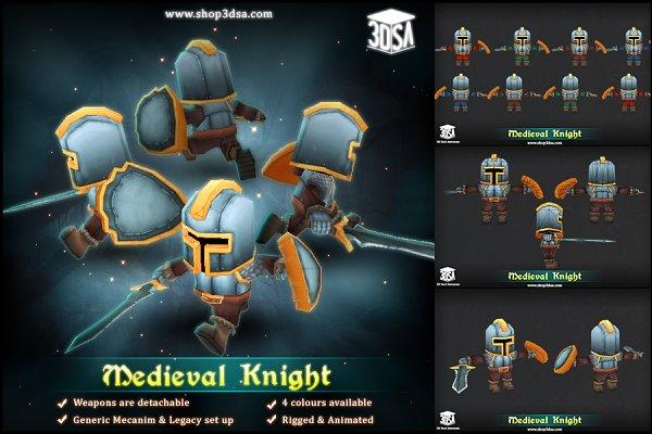 3D Fantasy: Meshtint Studio - Medieval Knight