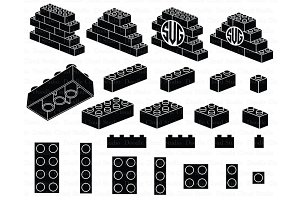 Lego SVG, Building Blocks SVG