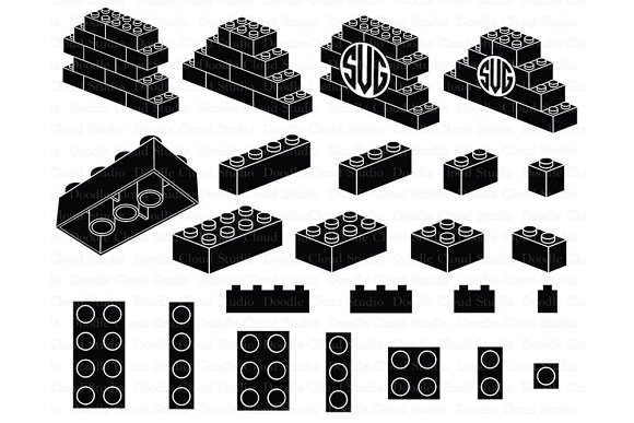 Lego SVG Building Blocks SVG