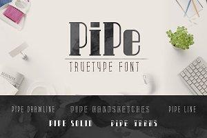 Pipe TrueType Font