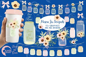 Country Wedding Clipart 1031