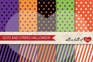 Halloween Background Patterns