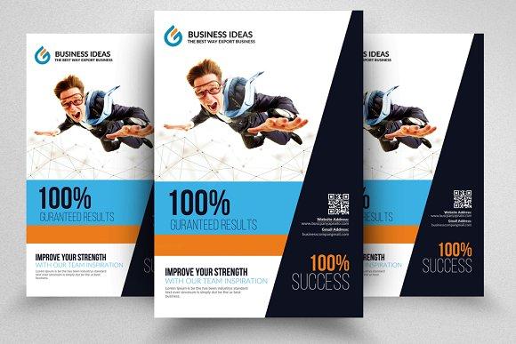 good idea business flyer templates