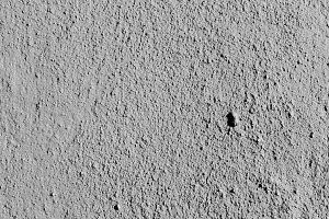 Stuccoed Wall Detail in Black White