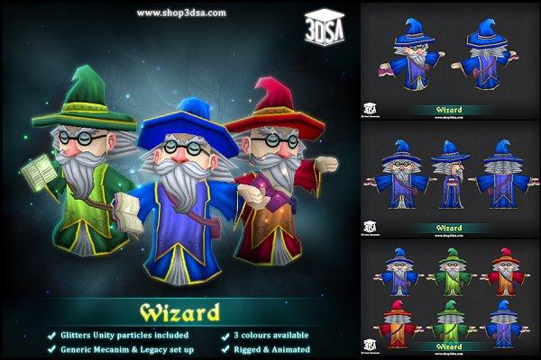 3D Fantasy: Meshtint Studio - Wizard