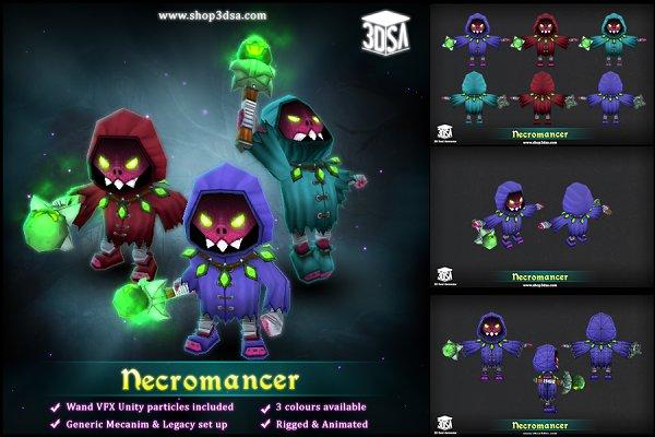 3D Fantasy: Meshtint Studio - Necromancer