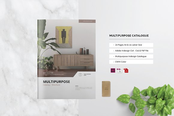 Multipurpose Catalogue Brochure