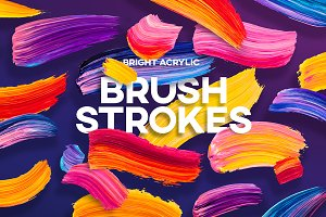 Vivid Brush Strokes