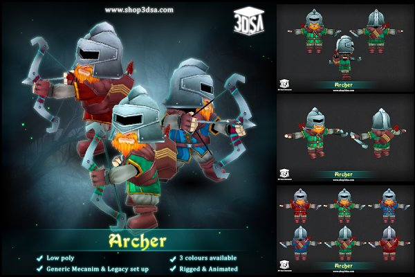 3D Characters: Meshtint Studio - Archer