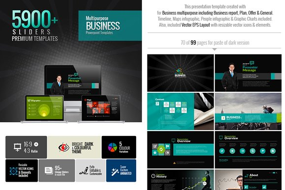 MultiEco Business Template