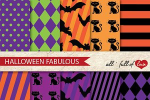 Halloween Party Craft Paper Kit