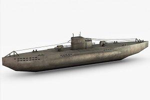 U-boat WWII Submarine