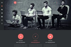 SalaMoon – Multi-Purpose PSD Templat