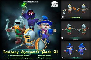 Fantasy Character Pack 01