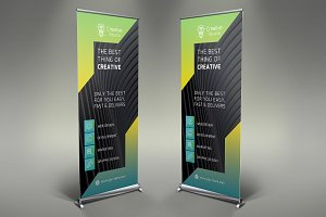 Creative Roll Up Banner #095