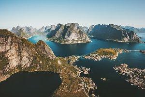 Norway Landscape Reinebringen