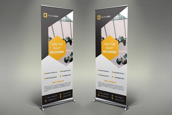 Corporate Roll Up Banner #098