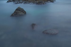 Seascape in Costa brava