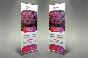 Corporate Roll Up Banner #099