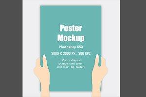 Minimal Poster Mockup v2