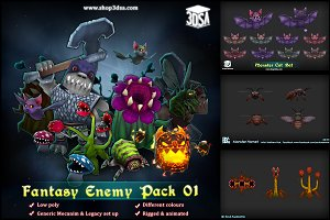 Fantasy Enemy Pack 01