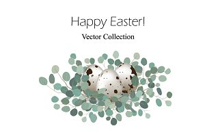Happy Easter! Vector Collection