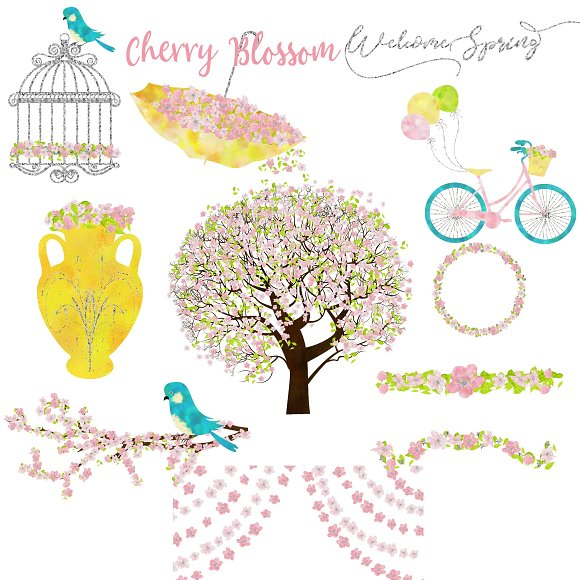 Cherry Blossom Clipart