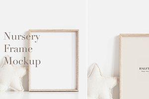 Nursery Frame Mockup, Mock up