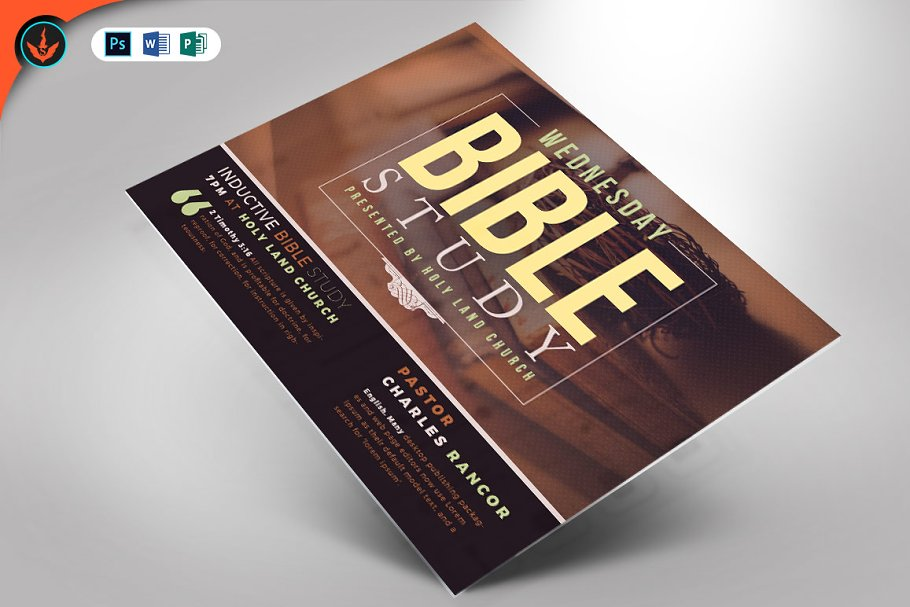 bible study flyer template creative flyer template and.html